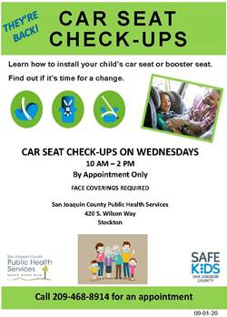 Car Seat Safety flyer