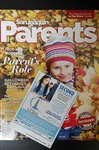 Image of San Joaquin Parents Magazine Cover with CCBVI ad.